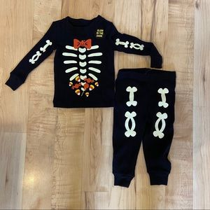 NEW glow in the dark skeleton outfit